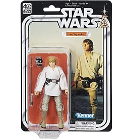 Hasbro Star Wars Black Series 40th Anniversary Wave 1 Luke Skywalker Action Figure