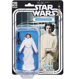 Hasbro Star Wars Black Series 40th Anniversary Wave 1 Princess Leia Organa Action Figure