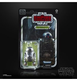 "Hasbro Star Wars 40th Anniversary The Black Series 6"" R2-D2 (The Empire Strikes Back)"