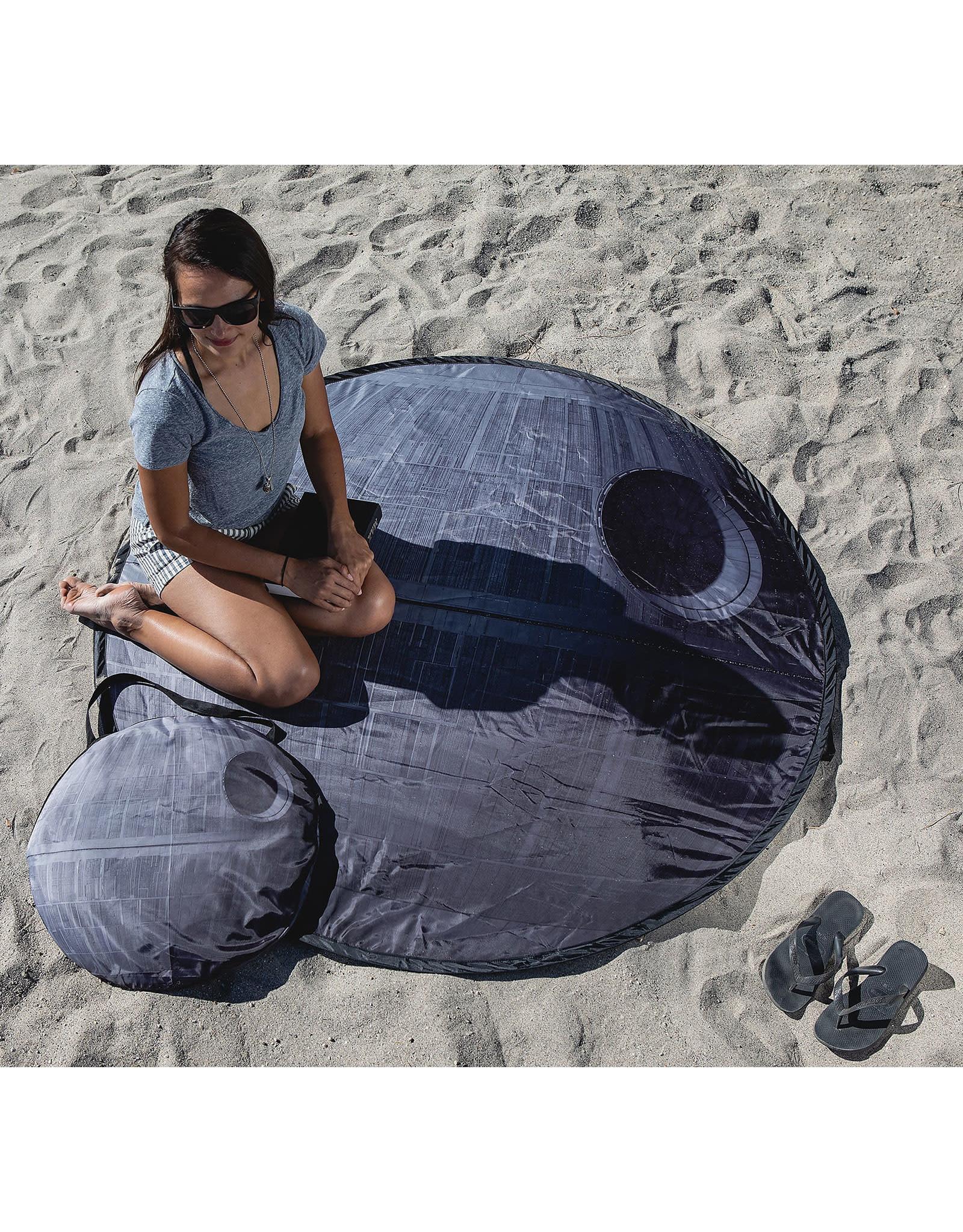 Picnic Time Star Wars Death Star Pop-Up Blanket