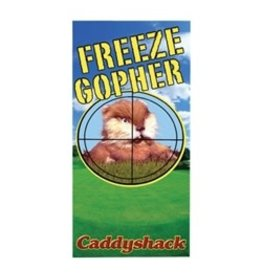 Factory Entertainment Factory Entertainment Caddyshack - Freeze Gopher Beach / Bath Towel