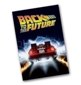 Factory Entertainment Factory Entertainment - Back To the Future - Delorean Time Machine Microfiber Towel