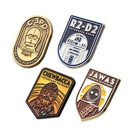 Salesone Star Wars Character 4-Pack Enamel Pin Set