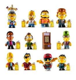 kidrobot The Simpsons Moe's Tavern Mini-Figures Individual Blind Box
