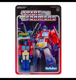 Super7 Transformers ReAction Figure - Optimus Prime