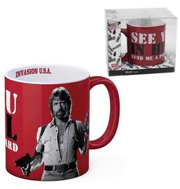 SD Toys Invasion USA Matt Hunter See You in Hell Ceramic Mug
