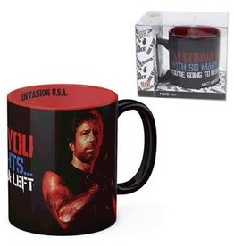 SD Toys Invasion USA Matt Hunter I'm Gonna Hit You Ceramic Mug