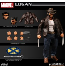 Mezco Wolverine Logan One:12 Collective Action Figure Mezco