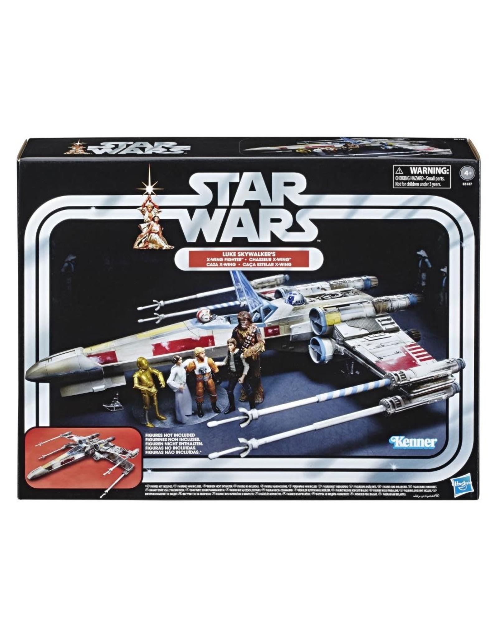 Hasbro Star Wars Vintage Collection Luke Skywalker Red 5 X-Wing