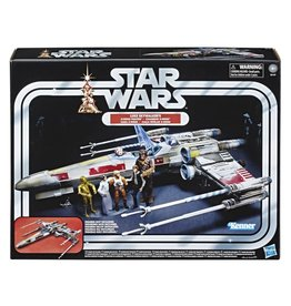 Hasbro Star Wars The Vintage Collection Luke Skywalker Red 5 X-Wing Fighter 3 3/4-Inch Scale Vehicle - Exclusive
