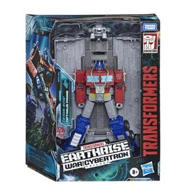 Hasbro Transformers War for Cybertron: Earthrise Leader Optimus Prime