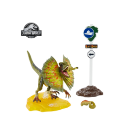 Mattel Jurassic Park Amber Collection Dilophosaurus