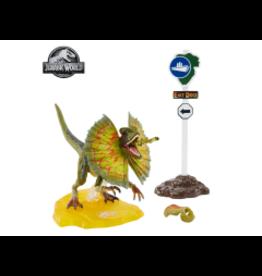 Mattle Jurassic Park Amber Collection Dilophosaurus