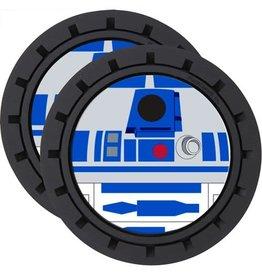 Plasticolor Star Wars R2-D2 2-Pack Car Cup Coaster Set