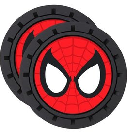 Plasticolor Spider-Man 2-Pack Car Cup Coaster Set