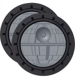 Plasticolor Star Wars Death Star 2-Pack Car Cup Coaster Set