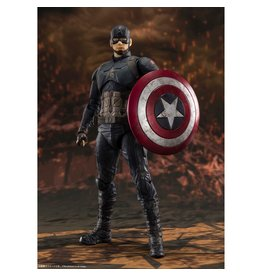 Bandai Avengers: Endgame Captain America Final Battle Edition SH Figuarts Action Figure