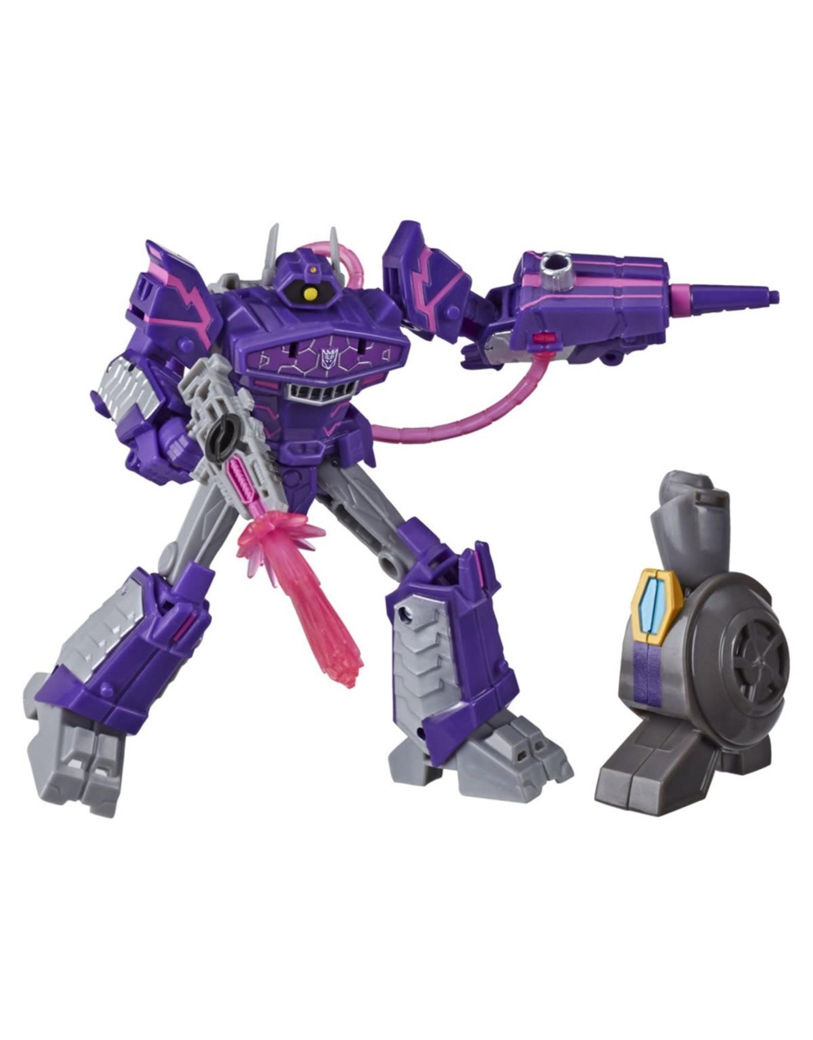 Hasbro Transformers Cyberverse Deluxe Shockwave