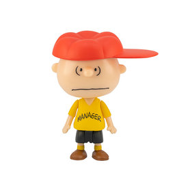 Super7 Peanuts ReAction Charlie Brown Manager Figure