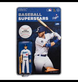 Super7 MLB Baseball Superstars Cody Bellinger (Los Angeles Dodgers) ReAction Figure