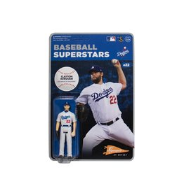 Super7 MLB Baseball Superstars Clayton Kershaw (Los Angeles Dodgers) ReAction Figure