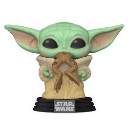 Funko Star Wars: The Mandalorian The Child with Frog Pop! Vinyl Figure