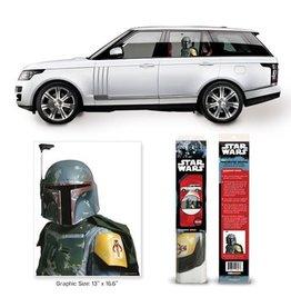FanWraps Star Wars Boba Fett Passenger Series Window Decal
