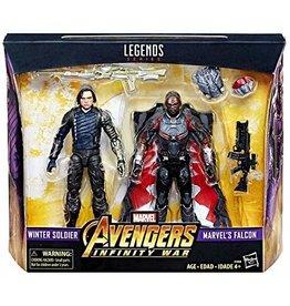 Hasbro Marvel Legends Avengers: Infinity War Winter Soldier & Falcon Exclusive 2 Pack