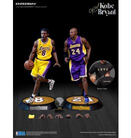 Real Masterpiece NBA Real Masterpiece Kobe Bryant 1/6 Scale Figures Two Pack