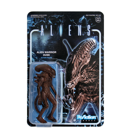 Super7 Aliens ReAction Figure - Alien Warrior B (Dusk Brown)