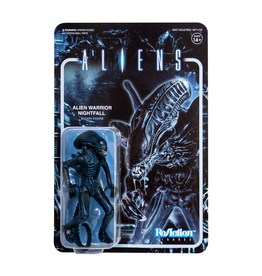 Super7 Aliens ReAction Figure - Alien Warrior C (Nightfall Blue)