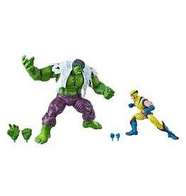 Hasbro Marvel Comics 80th Anniversary Marvel Legends Hulk Vs. Wolverine Two-Pack