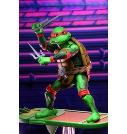 NECA Teenage Mutant Ninja Turtles – 7″ Scale Action Figure – Turtles in Time Series 2 - Raphael