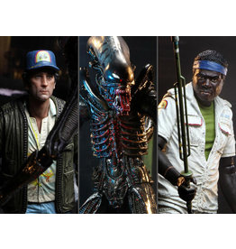 NECA Alien 40th Anniversary Series 15 Set of 3 Figures