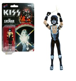 Bif Bang Pow KISS Rock and Roll Over The Catman Action Figure