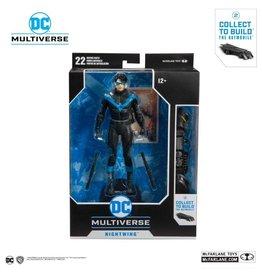 McFarlane Toys DC Rebirth DC Multiverse Nightwing (Build-A-Batmobile)