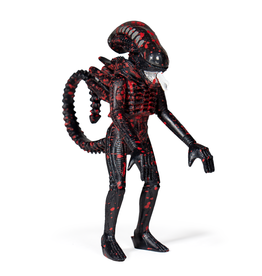 Super7 Alien ReAction Figure - Bloody Alien Open Mouth (Blue Card)