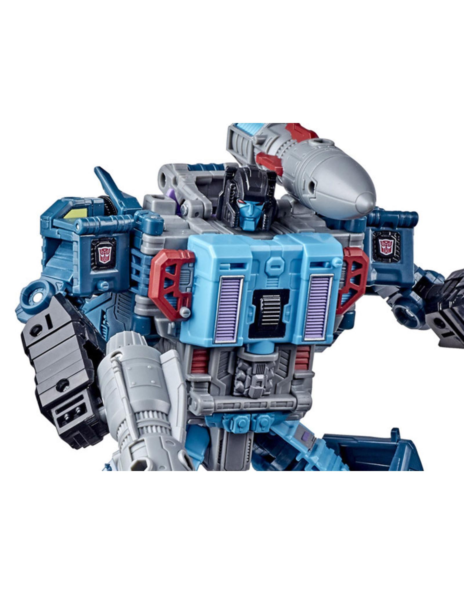 Transformers War for Cybertron Earthrise Leader Optimus Prime Doubledealer PIC