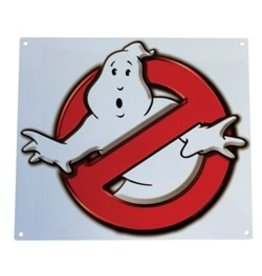 Factory Entertainment Ghostbusters - No Ghosts Logo Metal Sign