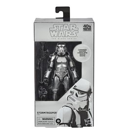 "Hasbro Star Wars: The Black Series 6"" Stormtrooper (Carbonized)"