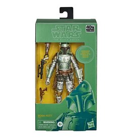 "Hasbro Star Wars: The Black Series 6"" Boba Fett (Carbonized)"