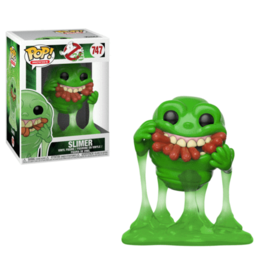 Funko Funko Ghostbusters POP! Movies Slimer with Hot Dogs Exclusive Vinyl Figure #747 [Translucent]