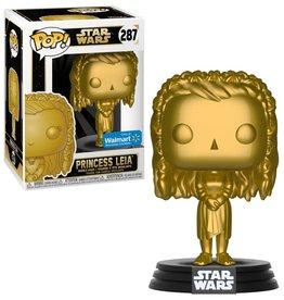 Funko Funko POP! Star Wars Princess Leia Exclusive Vinyl Figure #287 [Gold Metallic]