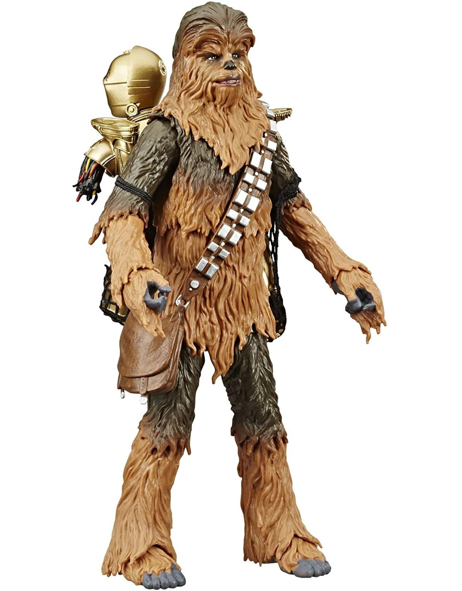 "Hasbro Star Wars The Black Series Chewbacca & C-3PO 6"" Action Figures The Empire Strikes Back  (Amazon Exclusive)"