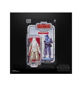"Hasbro Star Wars 40th Anniversary The Black Series 6"" Snowtrooper Figure"