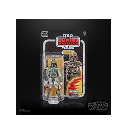 "Hasbro Star Wars 40th Anniversary The Black Series 6"" Boba Fett (Empire Strikes Back) Figure"
