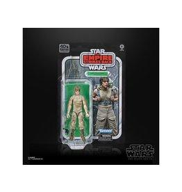 "Hasbro Star Wars 40th Anniversary The Black Series 6"" Luke Skywalker (Dagobah) Figure"