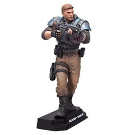 McFarlane Toys McFarlane Toys Gears of War 4 Color Tops Blue Wave JD Fenix Action Figure #11