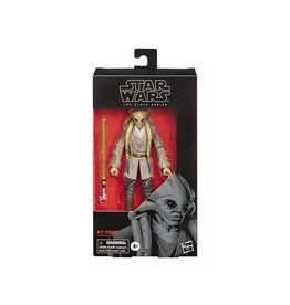 "Hasbro Star Wars: The Black Series 6"" Kit Fisto (Clone Wars) Action Figure"