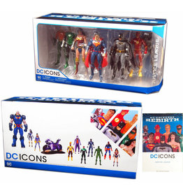 DC Collectibles DC REBIRTH JUSTICE LEAGUE ACTION FIGURE 7 PACK
